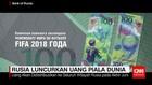 Rusia Luncurkan Uang Piala Dunia
