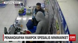 Penangkapan Rampok Spesialis Minimarket