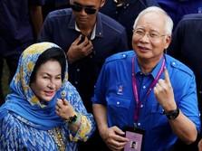 Istri Najib Razak Ditangkap Komisi Anti Korupsi Malaysia