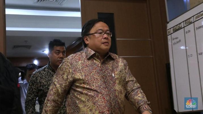 Menteri Bambang: CAD Bengkak Isunya Memang di Migas