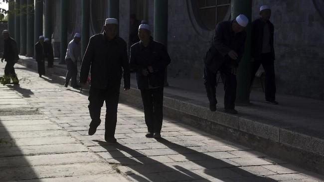 Di Masjid Najiahu, turis bisa mengetahui salah satu sejarah jejak penyebaran Islam di Negeri Tirai Bambu.
