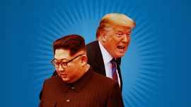 INFOGRAFIS: Perang Mulut Donald Trump-Kim Jong-un
