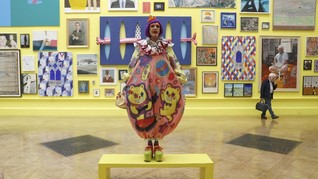 FOTO: Pesta Ribuan Karya Seni 'Royal Academy of Arts'