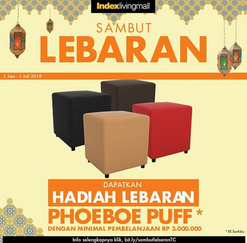 Sambut Lebaran, Belanja Furnitur Gratis Ini di Index Living Mall