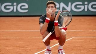 FOTO: Novak Djokovic Lanjutkan Puasa Gelar Grand Slam