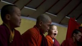 FOTO: Perguruan Biksu Millennial di Mongolia