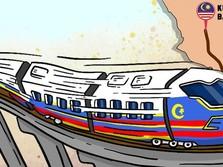 Kereta Cepat Batal, Malaysia Bayar Rp1,1 T ke Singapura!