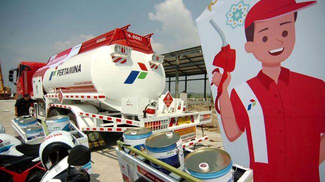 Pertamina Imbau Pemudik Isi BBM Penuh di Lokasi Keberangkatan