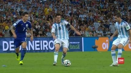VIDEO: Aksi Lionel Messi di Piala Dunia 2014
