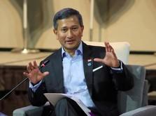 Jelang Pertemuan Trump-Kim, Menlu Singapura Bertolak Ke Korut