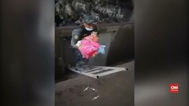 VIDEO: Ketika Bayi Selamat dari Letusan Gunung Fuego