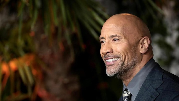 Dwayne Johnson encouraged men suffering from the disease to open up about their struggles and seek help. Reuters