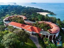 Melihat Capella Hotel, Lokasi Pertemuan Trump-Kim