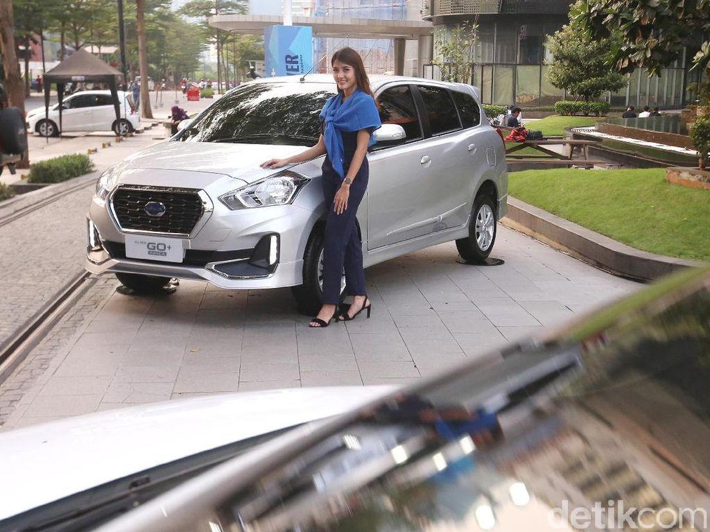 Datsun GO+ pun sama. Mulai Datsun GO+ D MT Rp 114.030.000 sampaiDatsun GO+ T CVT Rp 146.290.000. Foto: Ari Saputra