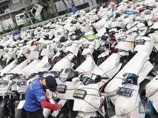 Ribuan Motor Pemudik Siap Berangkat Ke Kampung Halaman