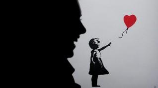 Banksy Rusak Lukisan Karyanya Usai Terjual Rp21 Miliar