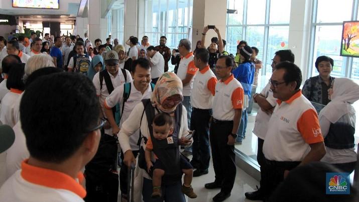 BNI memberangkatkan 7.500 pemudik menuju kampung halaman.