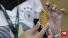 Awal Pekan, Harga Emas Antam Dijual Rp702 Ribu per Gram