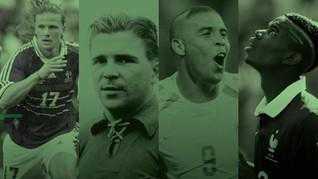 Gaya Rambut Pemain di Piala Dunia
