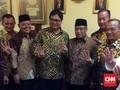 Buka Bersama Ketum PBNU, Golkar Sampaikan Dukungan ke Jokowi