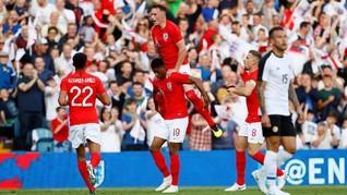 Inggris Menang Dua Gol Atas Kosta Rika