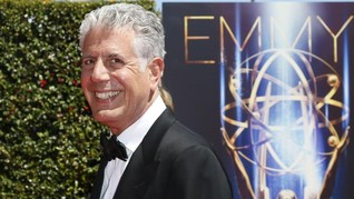 'Parts Unknown' Anthony Bourdain Kantongi 6 Nominasi Emmy
