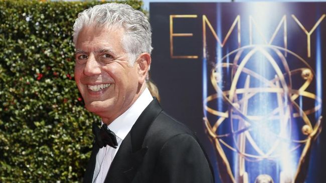 'Parts Unknown' Anthony Bourdain Kantongi 6 Nominasi Emmy