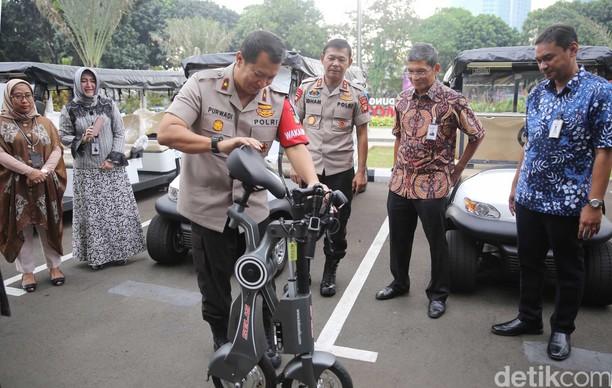30 Unit Sepeda Listrik Disiapkan untuk Patroli Asian Games 2018