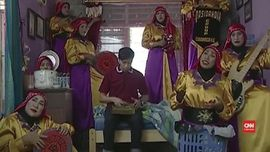VIDEO: 'Pengorbanan' Kasidah Nurussyifa Syuting Iklan Viral