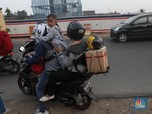 H-5 Lebaran, 28.129 Kendaraan Tinggalkan Jakarta Siang Tadi