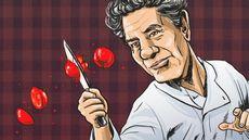 INFOGRAFIS: Si Koki 'Satire' Anthony Bourdain