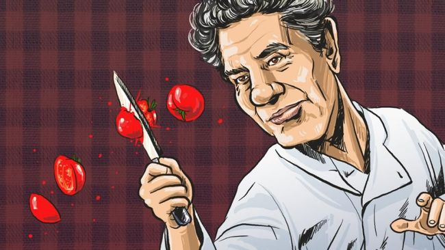 INFOGRAFIS: Si Koki 'Satire' Anthony Bourdain