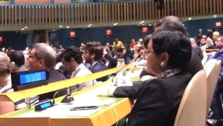 Indonesia terpilih menjadi anggota tidak tetap dewan keamanan PBB.