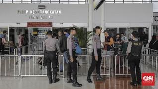 Arus Mudik, Pemeriksaan di Soekarno-Hatta Diperketat