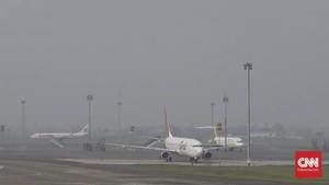Hari Pertama PSBB DKI, Penerbangan di Soetta Normal