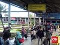 Pemudik di Stasiun Bandung Meningkat Dibanding Tahun Lalu