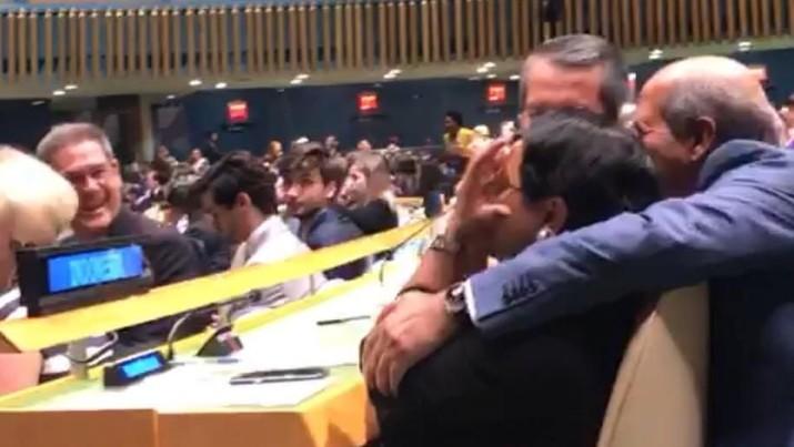 Momen Haru Menlu Saat RI Diumumkan Jadi Dewan Keamanan PBB