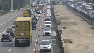 Arus Balik, Contraflow Tol Cikampek Diperpanjang hingga 24 Km