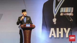 AHY Pertanyakan Kaitan Bendera Rusak dengan Kedatangan Jokowi