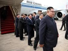 Jelang Pertemuan Bersejarah, Trump-Kim Tiba di Singapura