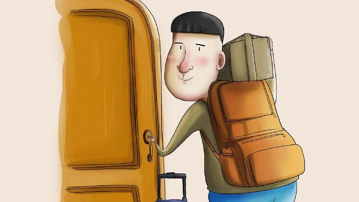 tips aman meninggalkan rumah saat mudik