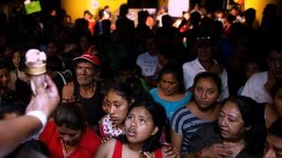 FOTO: Pengungsi Letusan Gunung Fuego