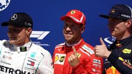 Verstappen Juara GP Austria, Vettel Pimpin Klasemen