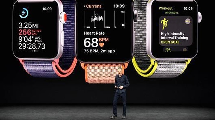 Wah, Teknologi Baru Apple Watch Bisa Deteksi Parkinson