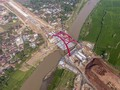 Menhub Sebut Jembatan Kali Kuto Dibuka Fungsional Sore Ini