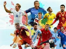 10 Negara dengan Atlet Bola Termahal di Piala Dunia 2018