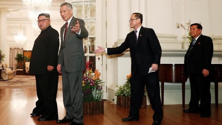 Biaya penyelenggaraan pertemuan Trump-Kim mencapai sekitar SG$20 juta atau sekitar Rp 209,2 miliar.