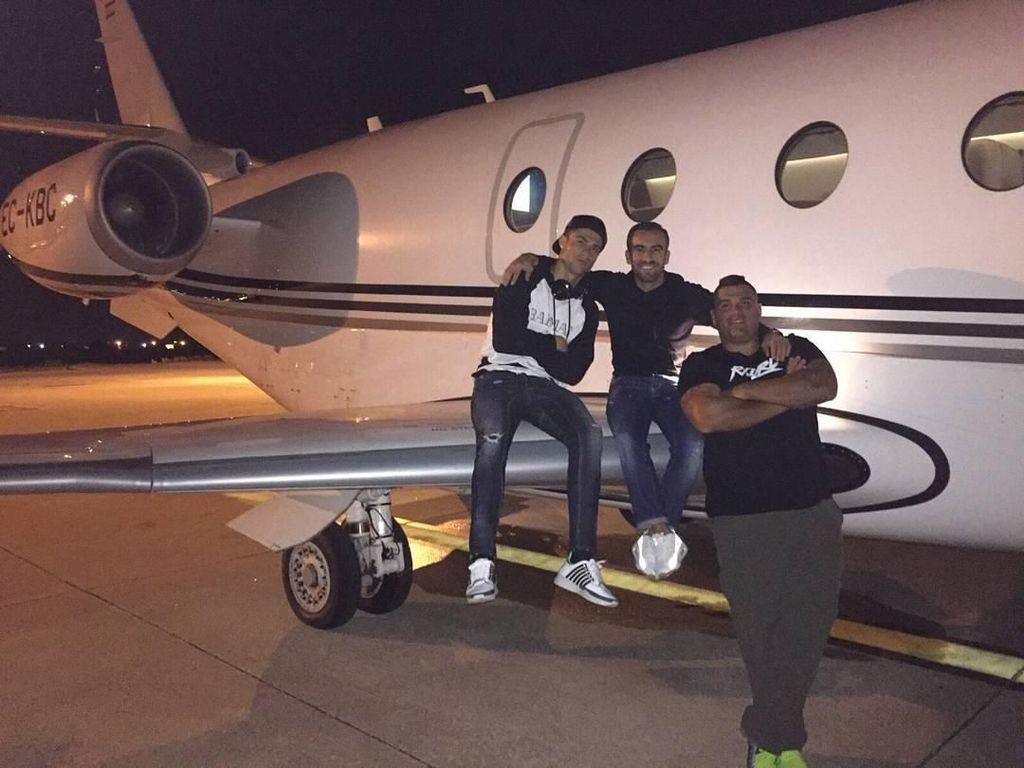 7 Gaya Mewah Cristiano Ronaldo Naik Pesawat Jet Seharga Rp 525 Miliar