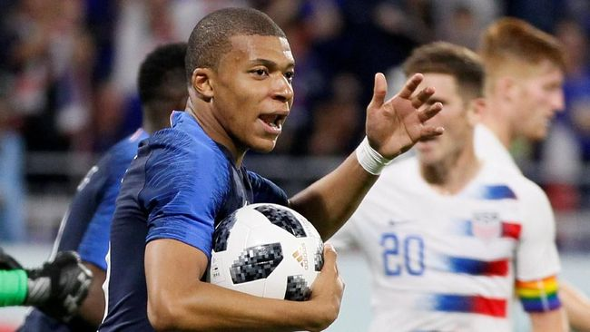 Timnas Prancis Ditahan Imbang Amerika Serikat