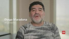 VIDEO: Maradona Belajar dari Rivelino di Piala Dunia 1974